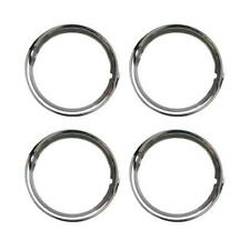 Universal VW Beetle Splitscreen Stainless Steel Beauty Wheel Trim Rings 15 Inch