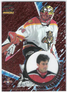 1997-98 Pacific Invincible Copper #64 John Vanbiesbrouck