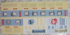 Brochure Dépliant Pieghevole AUTOVOX Televisori serie 1958-59