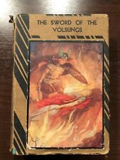 THE SWORD OF THE VOLSUNGS - RAPHAEL TUCK & SONS - H/B D/W - UK POST £3.25