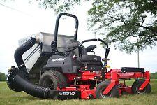 Trac Vac Lawn Vacuum Leaf Grass Bagger Dump From Seat Steel Chute 12 CF