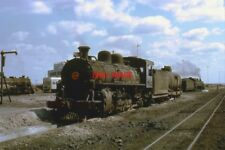 PHOTO  SOUTH AFRICAN RAILWAYS - CFM LOCO 200 AT LOURENÇO MARQUES SHED. 22ND AUGU