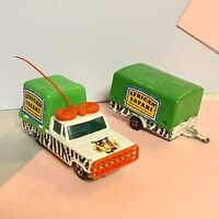 MAJORETTE VINTAGE TWIN SET AFRICAN SAFARI Good Used Conditon Original #777