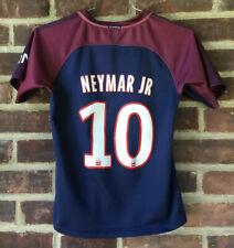 Nike DriFit Paris Saint Germain Fly Emirates Neymar Jr Jersey Youth Size 24