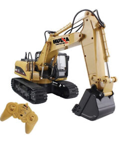 Remote Control Excavator Rc Constructions 15 Channel 2.4G 4WD Full Function