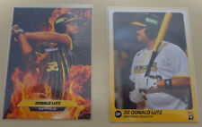 2018/19 Donald Lutz Baseball Cards - Brisbane Bandits Australian Baseball League