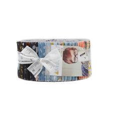 Moda Stoff Biskuitrolle ~ Wild & Gratis ~ von Abi Halle 6.3cm Streifen
