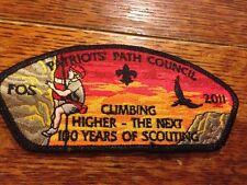 MINT CSP Patriots Path Council FOS SA-36