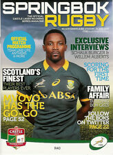 SOUTH AFRICA v SCOTLAND 28 Jun 2014 RUGBY PROGRAMME