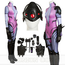 Overwatch Widowmaker AmElie Lacroix  Cosplay Costume Full Set All SIZE
