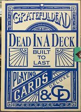 Grateful Dead in a Deck Built to Last Deluxe CD Playing Cards Collector Set