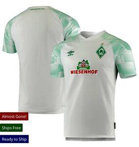 Umbro SV Werder Bremen White 20/21 away replica Jersey Size Sm. Free Shipping