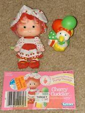 Vintage Strawberry Shortcake Party Pleaser Cherry Cuddler and Gooseberry- Kenner