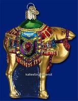 MAGIS CAMEL OLD WORLD CHRISTMAS BLOWN GLASS NATIVITY ANIMAL ORNAMENT NWT 12214