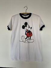 New listing Amazing Vintage Mickey Mouse T Shirt Walt Disney Productions Sz M (38-40)