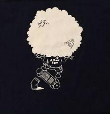 Alter Ego Hawaii X-Large T-Shirt  Navy Blue 100% Cotton Mens Tee