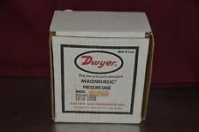 Dwyer 2215 Differential Pressure Gauge & Switch Air Filter Kit 35 PSI Max