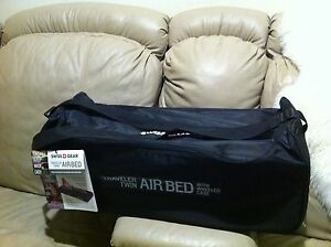 New SwissGear Traveler Twin Airbed with Built-in Pump