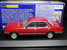WOW EXTREMELY RARE 1/43 VANGUARDS FORD GRANADA MK2 2.8 GHIA IMPERIAL RED  NLA