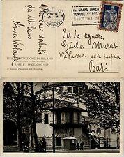 REGNO-20c FILIBERTO dent. 11(226)-Cartolina Milano->Bari 3.12.1928