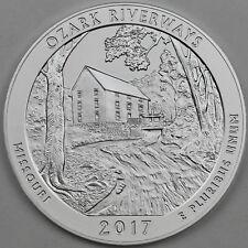 2017-P Ozark National Scenic Riverways (MO) 5 oz Silver Specimen, Mint Box COA