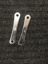 Cylinder Wrench Acetylene MC Tank  B Tank   2 Wrenches GREAT VALUE !!!