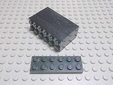 Lego 10 Platten 2x6 schwarz  3795 Set 8868 6887 6975 4955