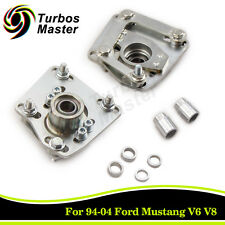 Adjustable Steel Camber Caster Plates Coilover Alignment for 94-04 Ford Mustang