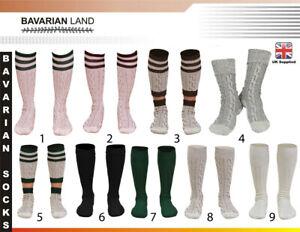 New BAVARIAN SOCKS OKTOBERFEST / CAUSAL LEDERHOSEN SOCKS IN PAIRS