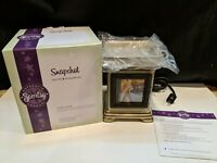 """Scentsy Full-Size Wax Warmer- """"Snapshot"""" Picture Frame- Retired NIB NEW"""