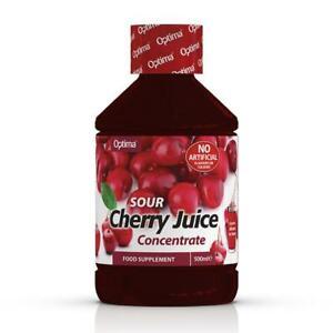 1 Bottle of Optima Sour Cherry Juice Super Concentrate Active Live 500ml