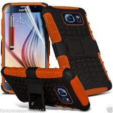 Cover e custodie arancione semplice per Samsung Galaxy S6