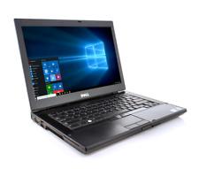"DELL LATITUDE Win 10 Pro CORE2 DUO 4GB RAM 320 GB HD 14"" DVD-RW WIFI Charger"