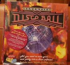 RETRO  70's DISCO BALL PARTY- 2 full CD - PARTY BOX SET - BRAND NEW/STILL SEALED