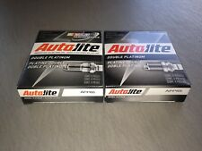 EIGHT(8) Autolite Double Platinum APP65 Spark Plug SET **$2 PP FACTORY REBATE**