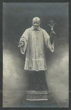 Holy card foto antique de San Vicente de Paul santino image pieuse estampa