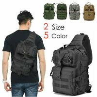 20L Hiking Neutral EDC Military Tactic Backpack Waterproof Sling Rucksacks Bag