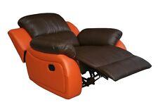 Leder Fernsehsofa Relaxsessel Fernsehsessel Schlaffunktion 5129-1-377-477 sofort