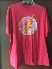 The Flash t shirt.  Size 2XL