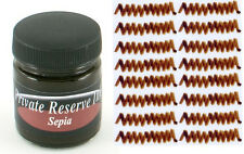 PRIVATE RESERVE - Fountain Pen Ink Bottle - SEPIA -  66ml - New