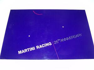 Martini Racing 25th. Anniversary Bodenplatte für 2 1:43 Modelle.
