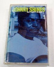 Brand New Sealed Johnny Shines Last Night's Dream Cassette Tape