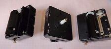 3 ältere, neuwertige Quartz - Werke für Drehpendel - Uhren