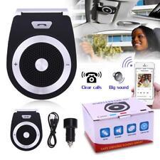 Car Bluetooth Handsfree Kit Transmitter Player Hands Free Phone Audio Speaker