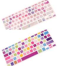 2pcs Keyboard Cover Skin for Apple Macbook Air Pro Retina MAC 13/15/17''