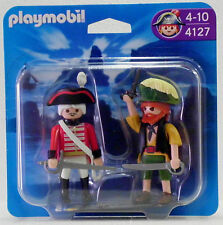 ROTROCK + PIRAT Playmobil BLISTER DUO PACK 4127 v.`10 zu Schiff Garde OVP NEU !