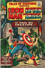 Tales Of Suspense #70 - Iron Man & Captain America - 1965 (Grade 6.0)