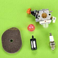 Carburetor Air Fuel Filter Fit Stihl FS40 FS50 FS56 FC56 HT56 HT56C KN56 KM56