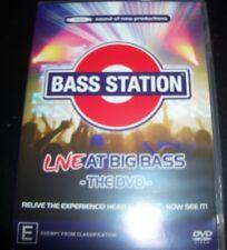 Bass Station Live At Big Bass The DVD (All Region) Australian DVD Jason Midro