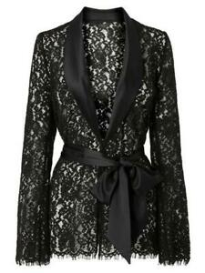 Ann Summers Lipsy Darcelle Jacket Size 8 New & Tags RRP £40 EU 34 Lace Gown